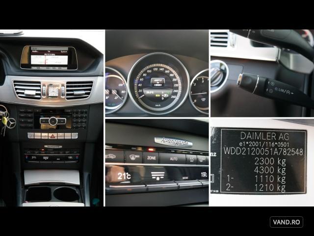 Vand Mercedes-Benz E 200 2013 Diesel