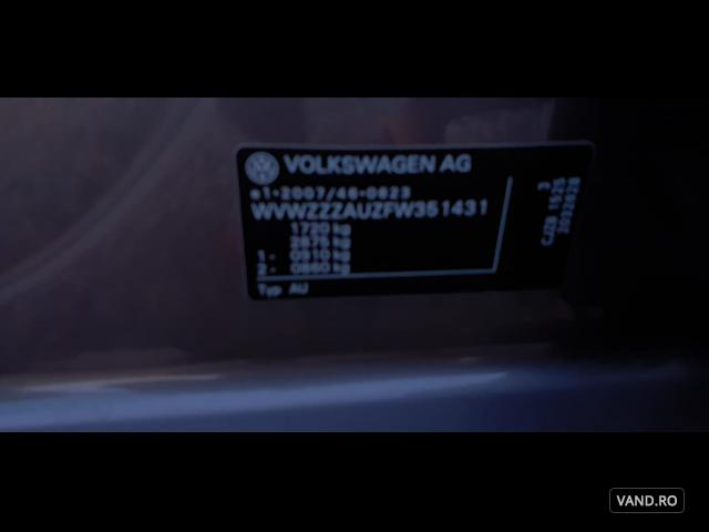 Vand Volkswagen Golf 2016 Benzina