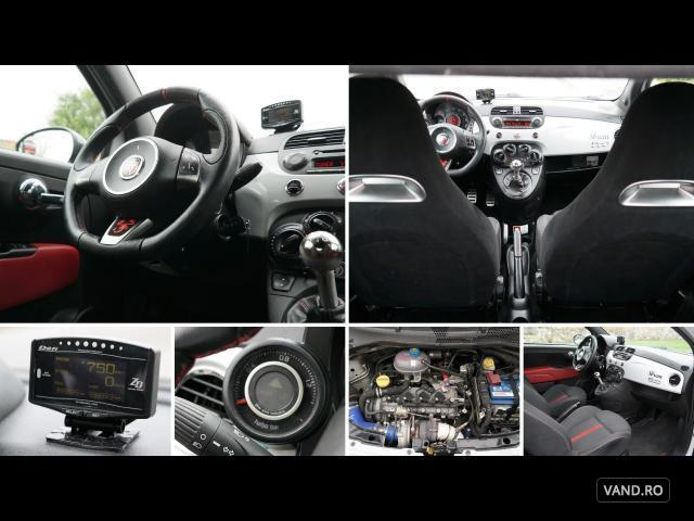Vand Fiat 500 2009 Benzina