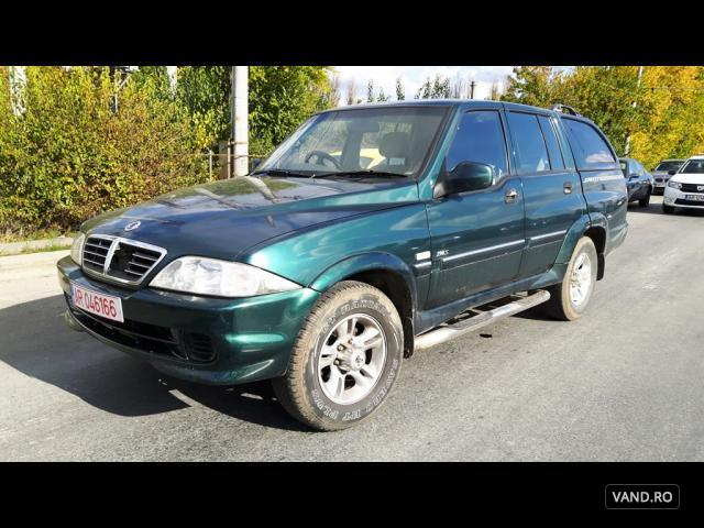 Vand SsangYong Musso 2005 Diesel