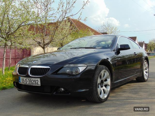 Vand BMW 630 2005 Benzina