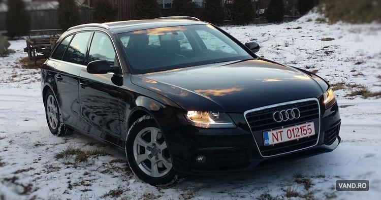 Vand Audi A4 Avant 2.0