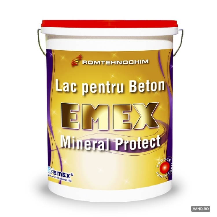 Lac pentru Protectie Beton EMEX MINERAL PROTECT /Kg
