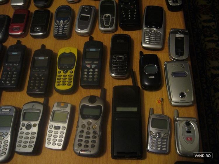 Lot telefoane vechi, de colectie