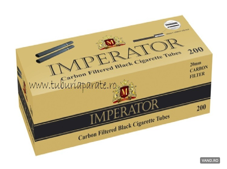 Tuburi Tigari Imperator Black Carbon Filter
