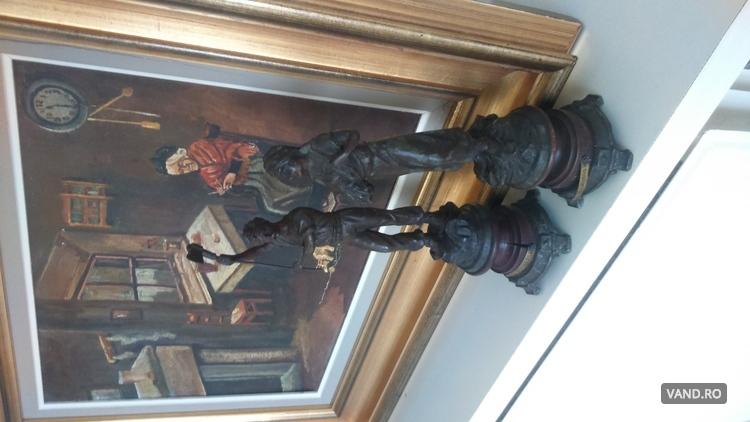 Statuete bronz Franceze 1800