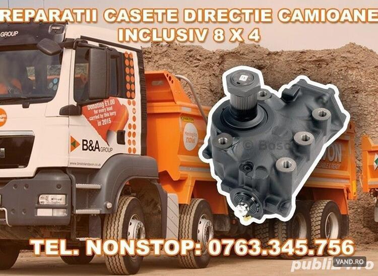 Reparatii casete directie camioane inclusiv 8x4
