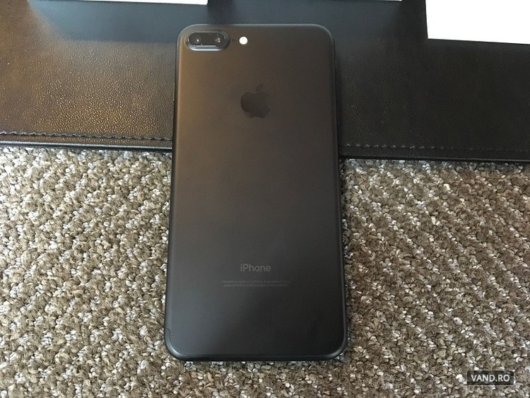 Apple iPhone 7 Plus - 128GB negru (Deblocat din Fabrica)